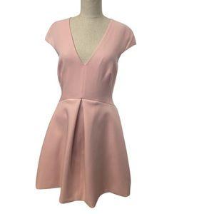 Beautiful Halston Heritage Pink Dress Size 6.